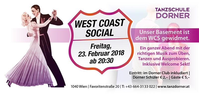 West Coast Social 23.Februar