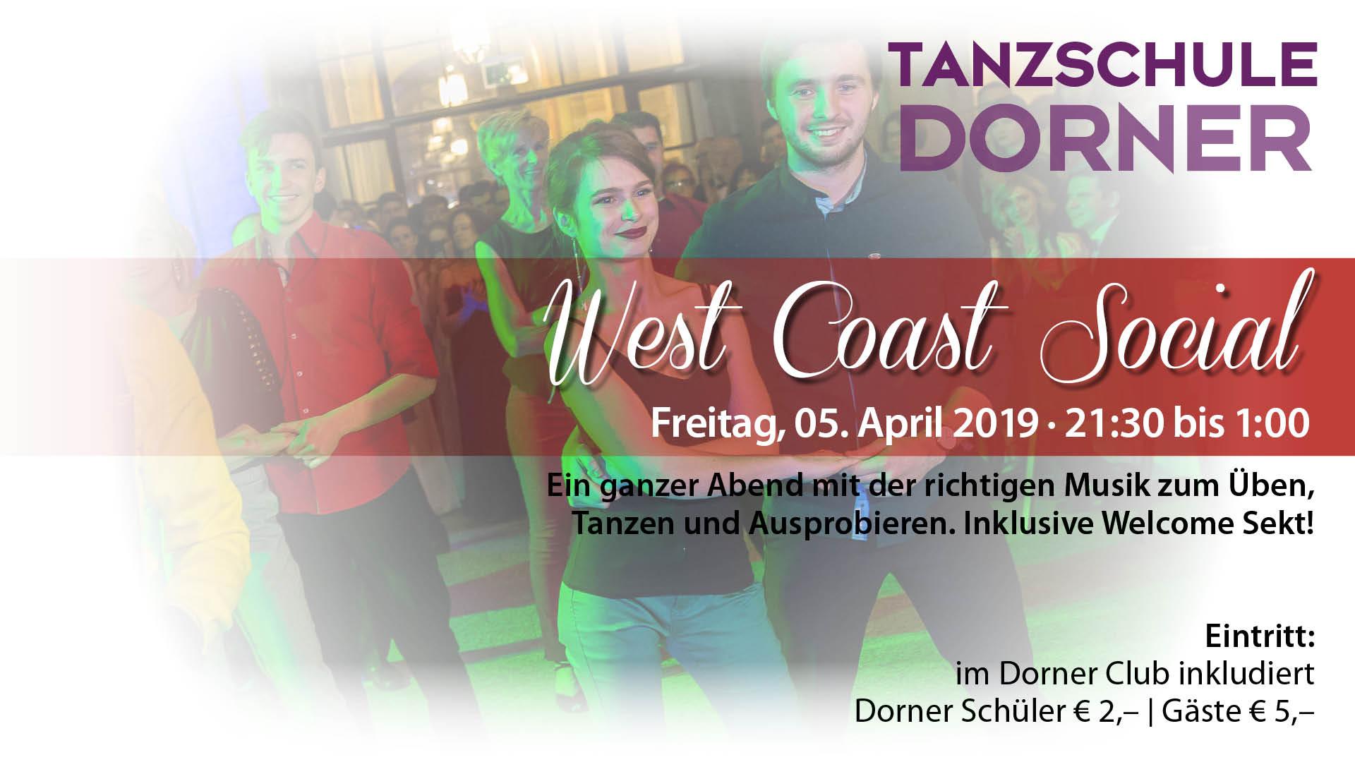 Tanzdorner West Coast Swing 05.04.2019