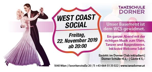 WestCoastSocial - 22. November 2019